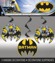 Batman Hanging Swirl Decorations (3)
